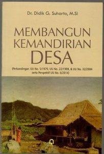Book Cover: Membangun Kemandirian Desa