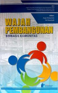 Book Cover: Wajah Pembangunan Berbasis Komunitas