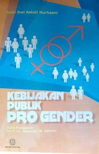 Book Cover: Kebijakan Publik Pro Gender